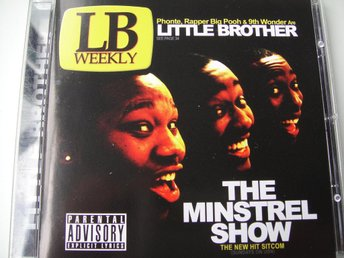 LITTLE BROTHER Minstrel show CD TOPPSKICK!!! 9TH WONDER RAPPER BIG POOH