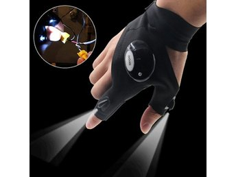 Gloves with LED Light Outdoor Hunting...