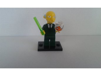 Lego Minifigur serie Simpsons Mr Burns  NY