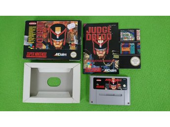 Judge Dredd Komplett Super Nintendo Snes