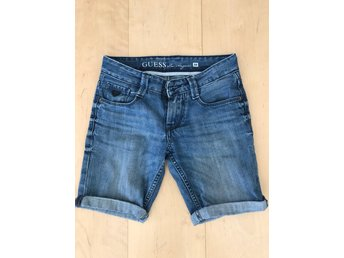 Guess jeansshorts strl 134/140