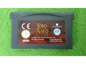 Lord of the Rings The Return of the King Gameboy Advance Nintendo GBA