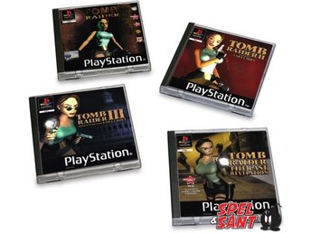 PlayStation 1 Tomb Raider Coasters