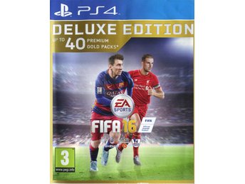 "PS4-spel ""Fifa 16: Deluxe Edition"""
