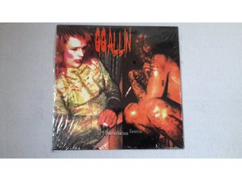 "GG Allin - The Masturbation Session - 10"" mini-album i nyskick"