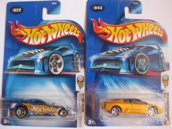 Leksaker Hot Wheels Cars Bilar Mattel - 2st Hot Wheels  - HWB 4