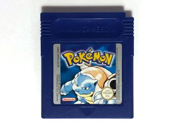 Pokémon Blue version – spel till Game Boy