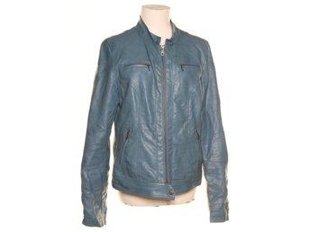 Geena, Bikerjacka, Strl: 40, Nice Jacket, Blå