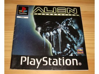 Manual PS: Alien Resurrection