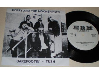 Gerry & Moonshiners 45/PS Barefootin´ 1979 VG++