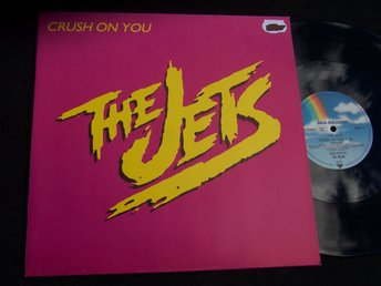 "JETS THE - CRUSH ON YOU 12"" 1985 ""LOOKS NEW"""