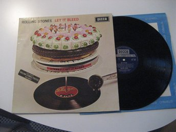 Rolling Stones  Let it bleed UK lp 1969