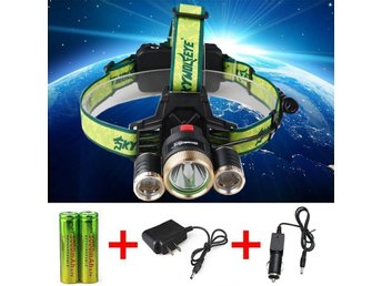 6000LM Cree XML 3x T6 LED Headlamp Bicycle Lamp Bike Light Headlight G