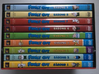 Family Guy Säsong 1-9 Box DVD - Enskede - Family Guy Säsong 1-9 Box DVD - Enskede