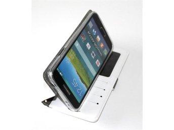 Samsung Galaxy S5 Plånboksfodral VIT - Halmstad - Samsung Galaxy S5 Plånboksfodral VIT - Halmstad
