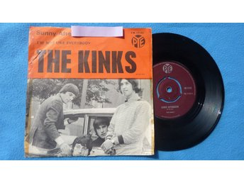 "SINGEL THE KINKS - ""SUNNY AFTERNOON"" - 1966"