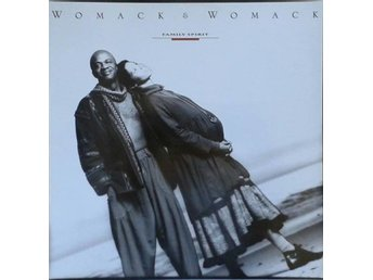 Womack & Womack title* Family Spirit* Downtempo, Soul LP EU