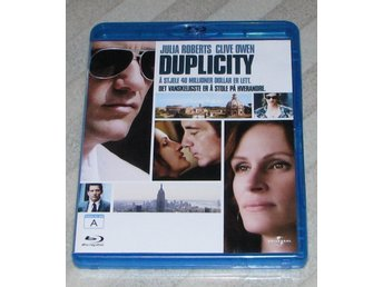 Duplicity - Svensk Text (Blu Ray) Bluray - Julia Roberts - Clive Owen
