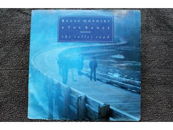 BRUCE HORNSBY & THE RANGE  VINYLSINGEL  THE VALLEY ROAD / THE LONG RACE  1988