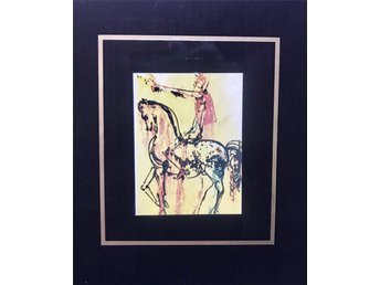 Salvador Dalí Prints and multiples, Serigraph on silk