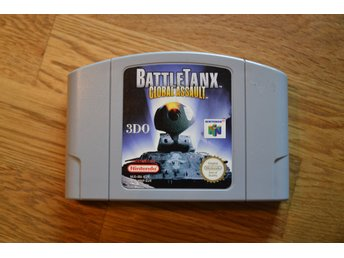N64 Nintendo 64 ,Battle Tanx: Global assault