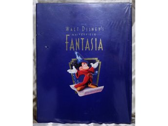 WALT DISNEY FANTASIA VHS DELUXE COLLECTOR´S LIMITED EDITION