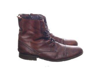 SMH Shoes, Kängor, Strl: 43, Svart, Skinn (353537958) ᐈ