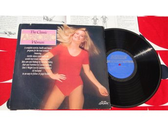 CLASSIC AEROBIC WOMAN LP 1982 BOOKLET 24 PAGES