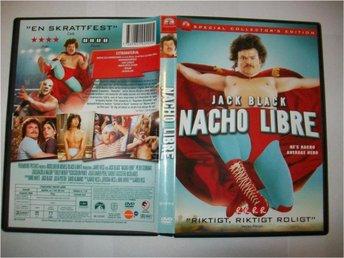 Nacho Libre - Jack Black & Ana de la Reguera från 2006 - Tibro - Nacho Libre - Jack Black & Ana de la Reguera från 2006 - Tibro