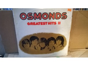 The Osmonds - Greatest Hits II, LP, Rare!