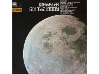 Various Marbles On The Moon