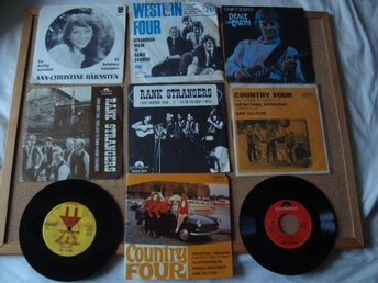 9 Äldre Country Singlar Mats Rådberg Rank Strangers Country Four Western Four Mf