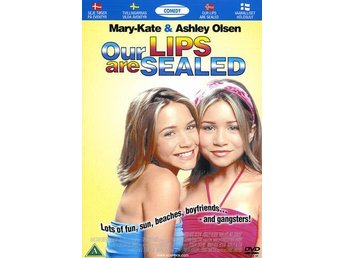 DVD Our Lips are Sealed/Tvillingarnas vilda äventyr M-K/Ashley Olsen UTGÅTT/OOP!