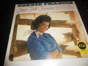 connie francis sings folk favouriteslp