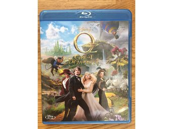 Oz: The Great and Powerful  Blu-ray Nyskick