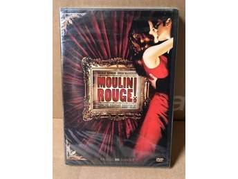 Moulin Rouge DVD film hemmabio 2 disc sexig romantisk het film bonus röd 2001