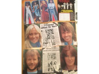 ABBA utklipp articles clippings 1976 Germany great con