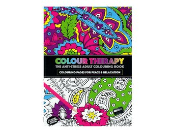 Colour Therapy Anti-Stress Målarbok 64s, Relax, Avslappning