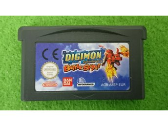 Digimon Digital Monsters Battle Spirit Gameboy Advance Nintendo GBA