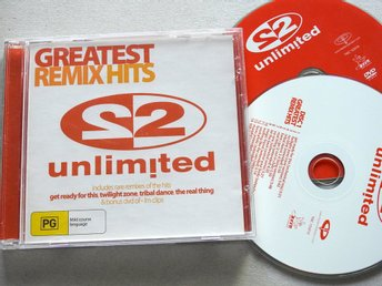 2 Unlimited - Greatest Remix Hits CD + Bonus DVD