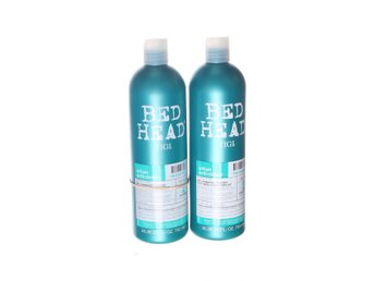 Bed Head, Schampoo & Balsam, Urban anti+dotes, Strl: 750ml*2, Blå