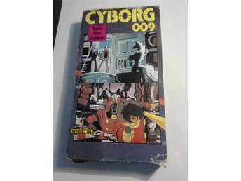 Cyborg 009 - avsnitt 41+42 - VHS - NM International nr. 3034