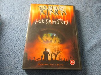 PET SEMATARY JURTJYRKOGÅRDEN STEPHEN KING DVD SVENSK TEXT