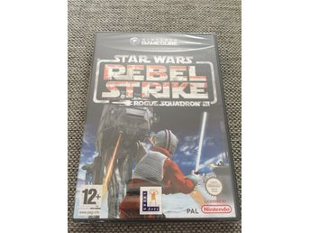 Star Wars Rebel Strike Rogue Squadron III  - Gamecube - GC - HELT NYTT! MINT!