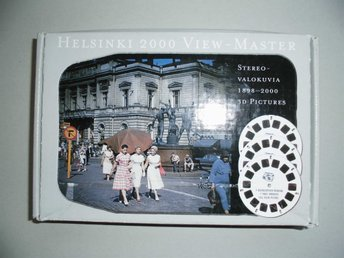 View-master Helsinki Helsingfors FINLAND SUOMI Limited edition (only 1000 made)