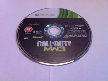 Xbox 360: Call of Duty: Modern Warfare 3 (MW3) (Enb. skivan)