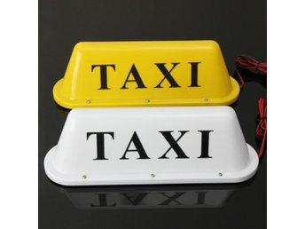 Waterproof Taxi Magnetic Base Roof Top Car Cab LED Sign L...