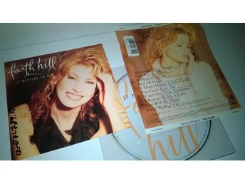Faith Hill - It matters to me, CD
