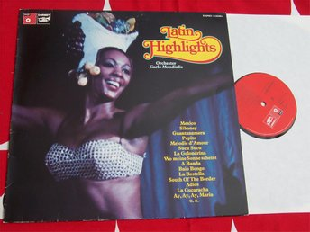 CARLO MONDIALIS - LATIN HIGHLIGHTS LP 1974
