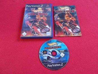 HOT WHEELS WORLD RACE till Playstation 2 PS2 - Blomstermåla - HOT WHEELS WORLD RACE till Playstation 2 PS2 - Blomstermåla